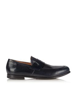 ARMANDO CABRAL | Lizard-Effect Leather Loafers