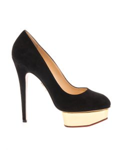 Charlotte Olympia | Dolly Suede Pumps