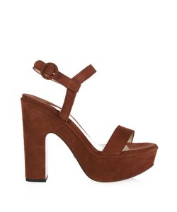 Paul Andrew | Ston Suede Platform Sandals