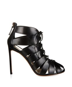 FRANCESCO RUSSO | Cutaway Leather Ankle Boots