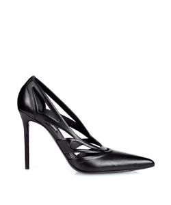 Balenciaga | Spider Laser-Cut Leather Pumps