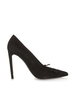 Balenciaga | All Time Low High-Heel Suede Pumps