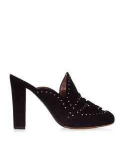 Tabitha Simmons | Diana Stud-Embellished Slip-On Mules