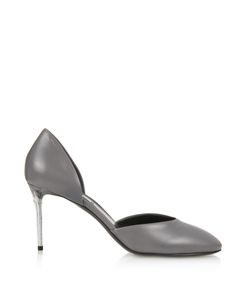 Balenciaga | George C Plexi-Heel Leather Pumps