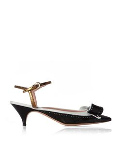 Rochas | Bow-Embellished Leather Pumps