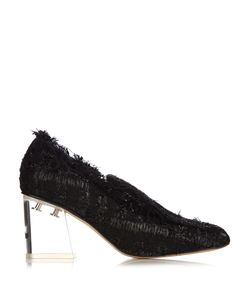 Simone Rocha | Perspex-Heel Tweed Loafers