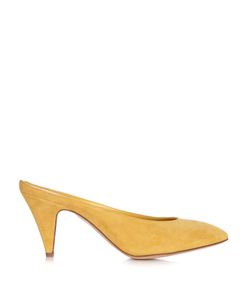 MANSUR GAVRIEL | Backless Suede Pumps
