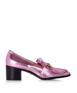 Gucci | Polly Fringed Leather Loafers