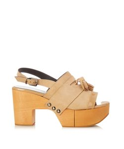 Robert Clergerie | Clara Wooden-Platform Sandals