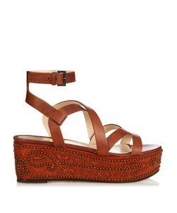 Etro | Stud-Embellished Flatform Sandals