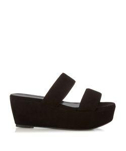 Robert Clergerie   Frazzial Suede Flatform Sandals