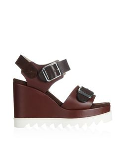 Chrissie Morris | Ida Leather And Suede Sandals