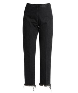 Rachel Comey | Fletcher High-Rise Slim-Leg Cropped Jeans