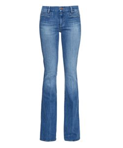 Mih Jeans | Marrakesh High-Rise Kick-Flare Jeans