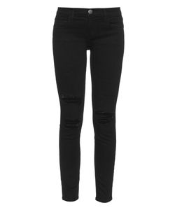 Current/Elliott | The Stiletto Low-Rise Super-Skinny Jeans