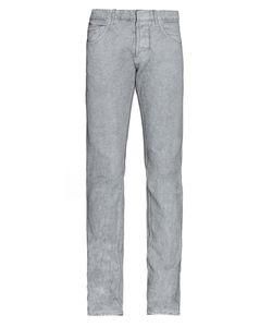 Balenciaga | Spray-Print Slim-Leg Jeans