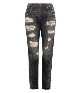 TORTOISE JEANS | Testudo Distressed Skinny-Leg Jeans