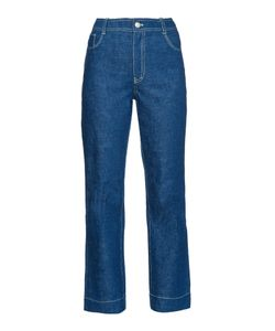 TRADEMARK | High-Rise Flared Jeans