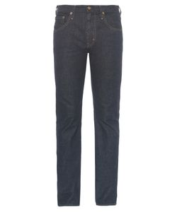 AG JEANS | The Nomad Mid-Rise Slim-Fit Jeans