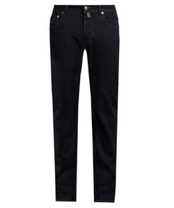 Jacob Cohёn | Tailored Stretch-Denim Jeans