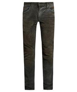 MASTERCRAFT UNION | Slim Tapered-Leg Washed-Resin Jeans