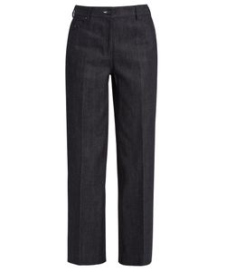 Calvin Klein Collection | High-Waisted Wide-Leg Jeans