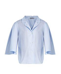 THREE GRACES LONDON   Gisele Striped-Cotton Pyjama Shirt