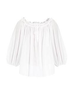 THREE GRACES LONDON   Almost A Honeymoon Cotton Pyjama Top