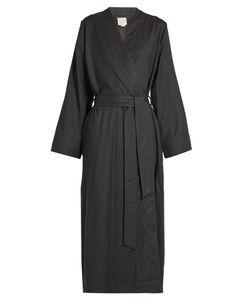 MORPHO + LUNA   Luna Flannel-Wool Robe