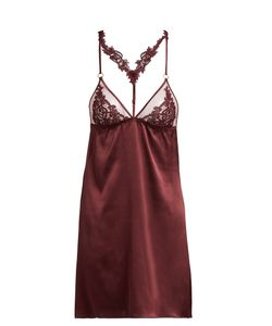 Fleur of England | Guipure Lace And Silk-Blend Camisole