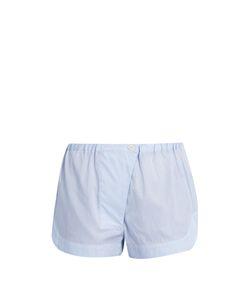 THREE GRACES LONDON   Gisele Striped-Cotton Pyjama Shorts