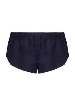 THREE GRACES LONDON   Gasparo Cotton-Voile Pyjama Shorts