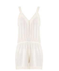 MORPHO + LUNA | Monny Fil Coupé Cotton Playsuit