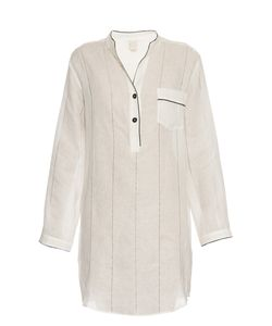 MORPHO + LUNA   Tess Linen Nightdress