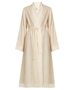 MORPHO + LUNA | Jade Embroidered Cashmere Robe