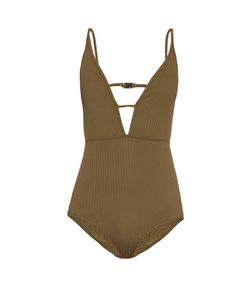 Zimmermann | Lotte High Tri V-Neck Swimsuit