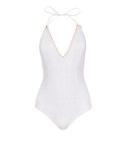 BIONDI | Boheme Lace-Print Swimsuit