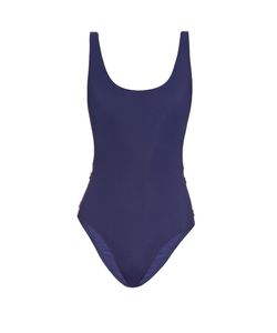 THAPELO PARIS | Karlie Button-Detail Scoop-Side Swimsuit