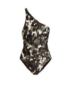 Norma Kamali | Mio One-Shoulder Swimsuit