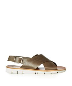 ARMANDO CABRAL | Essex Crossover Leather Sandals