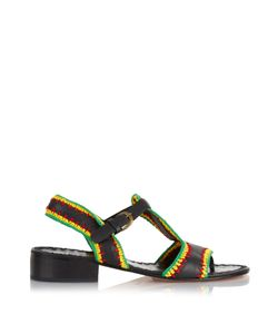 Rachel Comey | Bays Crochet Leather Sandals