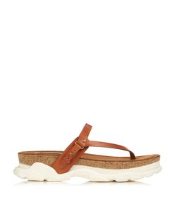Stella Mccartney | Canyon Faux-Leather Slip-On Sandals