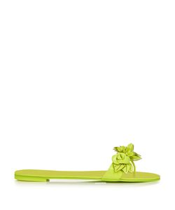 Sophia Webster | -Embellished Patent-Leather Slides