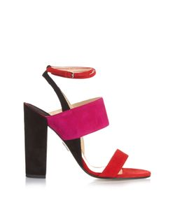 Paul Andrew | Colour-Block Suede Sandals