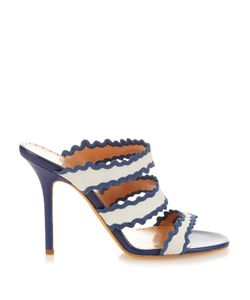 Alexa Wagner | Thumbellina Suede Straps Sandals