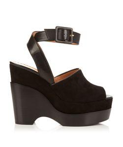 Alexa Wagner | Rapunzel Suede Platform Sandals