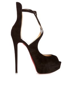 Christian Louboutin | Marlenalta 150mm Suede Platform Sandals