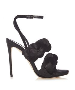 Marco De Vincenzo | Velvet High-Heel Sandals