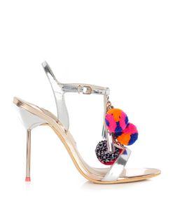 Sophia Webster | Layla Pompom-Embellished Leather Sandals