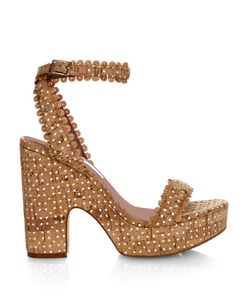 Tabitha Simmons | Harlow Cork Platform Sandals